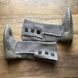 UGG Cardy II Boot Wool Blend In Grey size 6